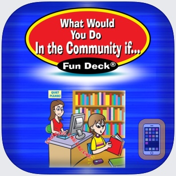 What Would You Do in the Community If ... Fun Deck by Super Duper Publications (Universal)