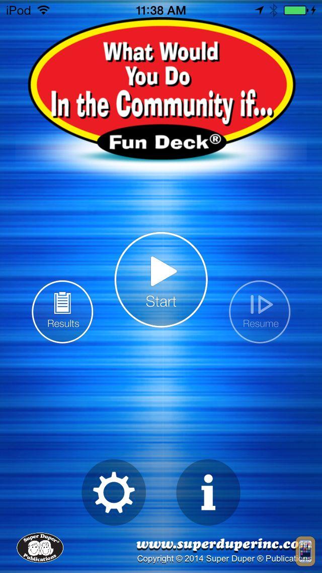 Screenshot - What Would You Do in the Community If ... Fun Deck
