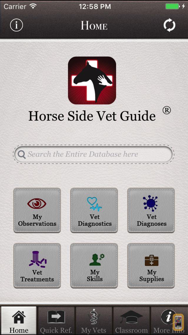 Screenshot - Horse Side Vet Guide