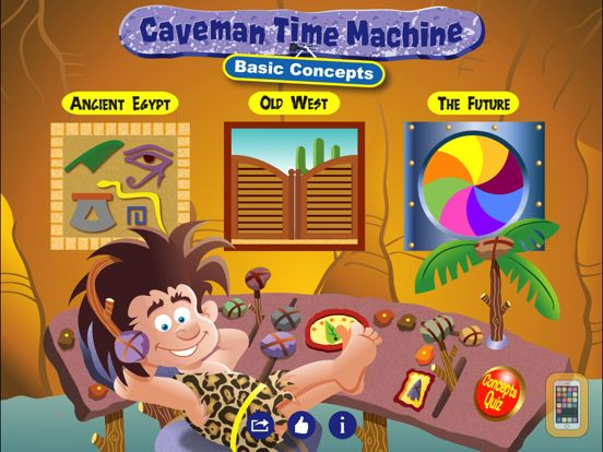 Screenshot - Caveman Time Machine - Basic Concepts