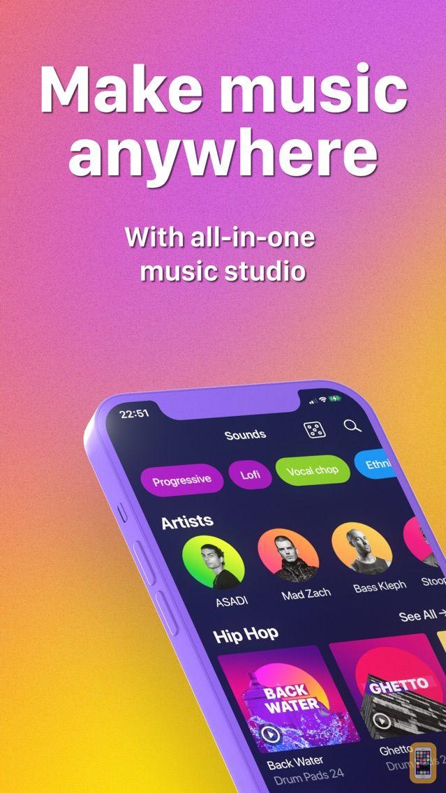 Drum Pads 24 - Beats Maker for iPhone & iPad - App Info