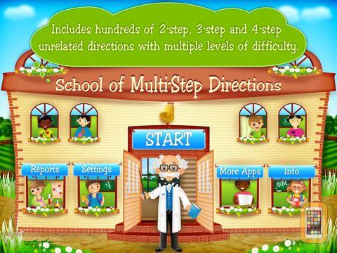 Screenshot - School of Multi-Step Directions