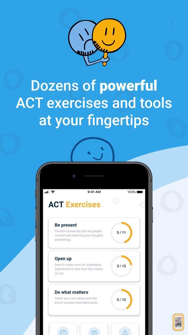 Screenshot - ACT Companion: The Happiness Trap App