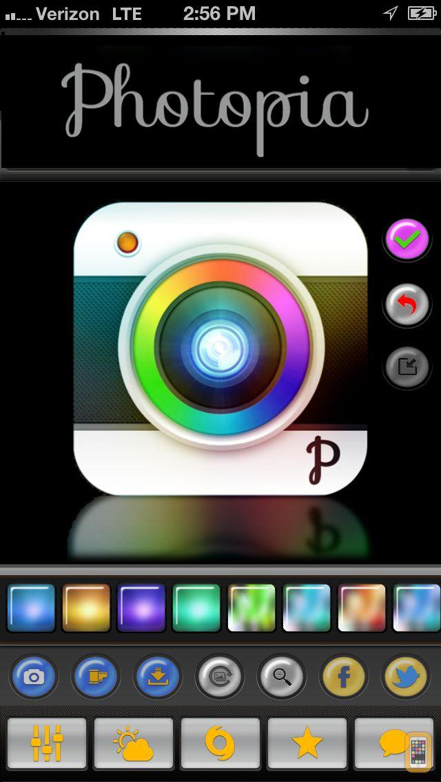 Screenshot - Photopia - Free Camera and Photo Editing Tools