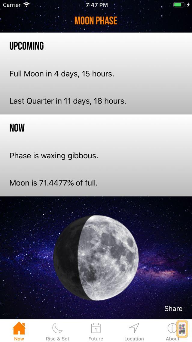 Screenshot - Moon Phase Calendar Plus