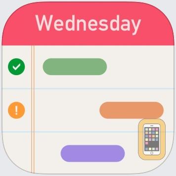 iAgenda - Schedule agenda on Gantt chart by Hao Li (iPad)