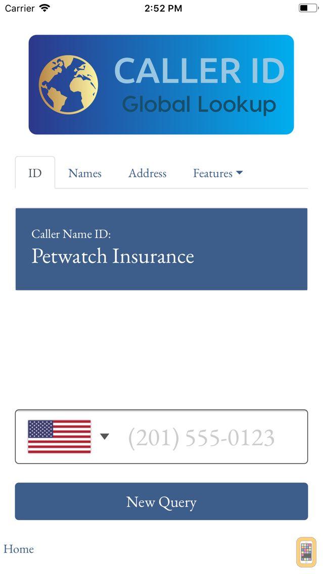 Screenshot - Caller-ID