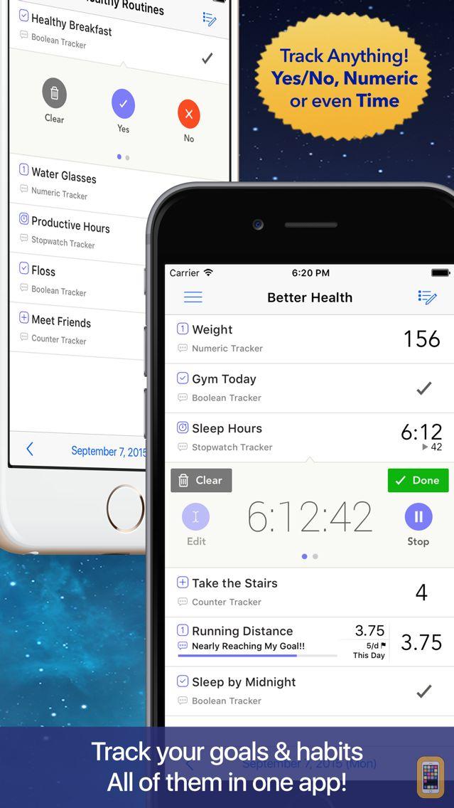 Screenshot - OneTracker Pro - Habit Tracker