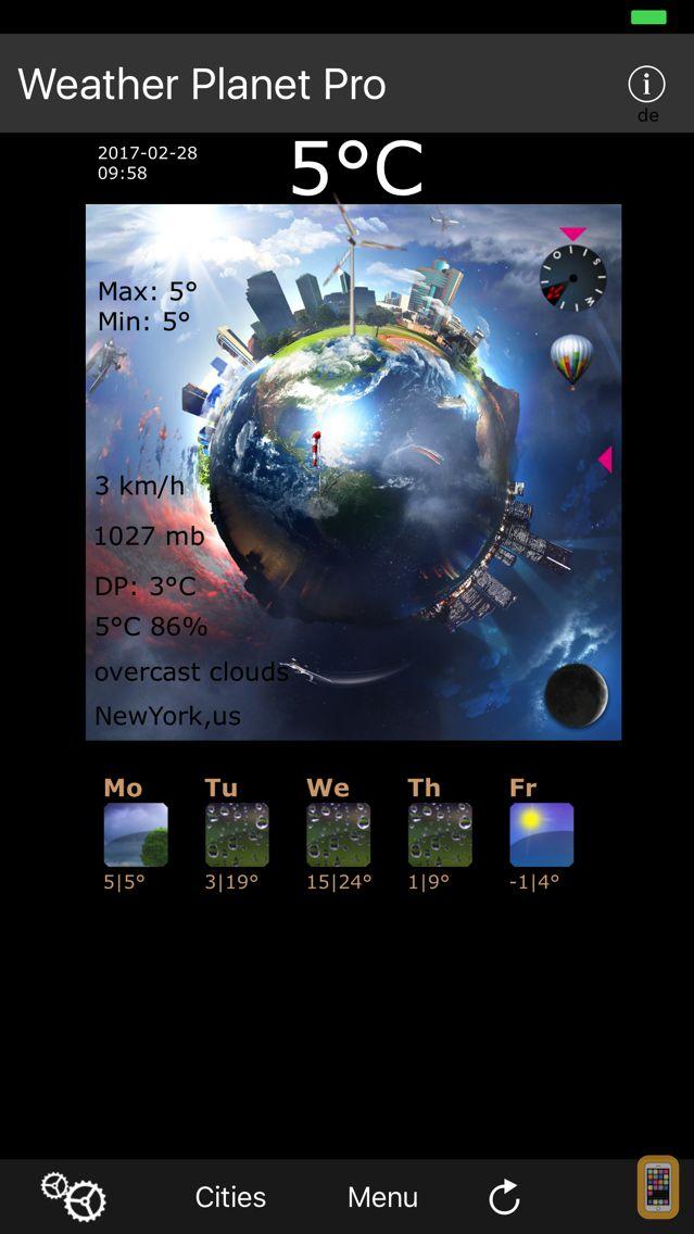 Screenshot - Weather Planet Pro