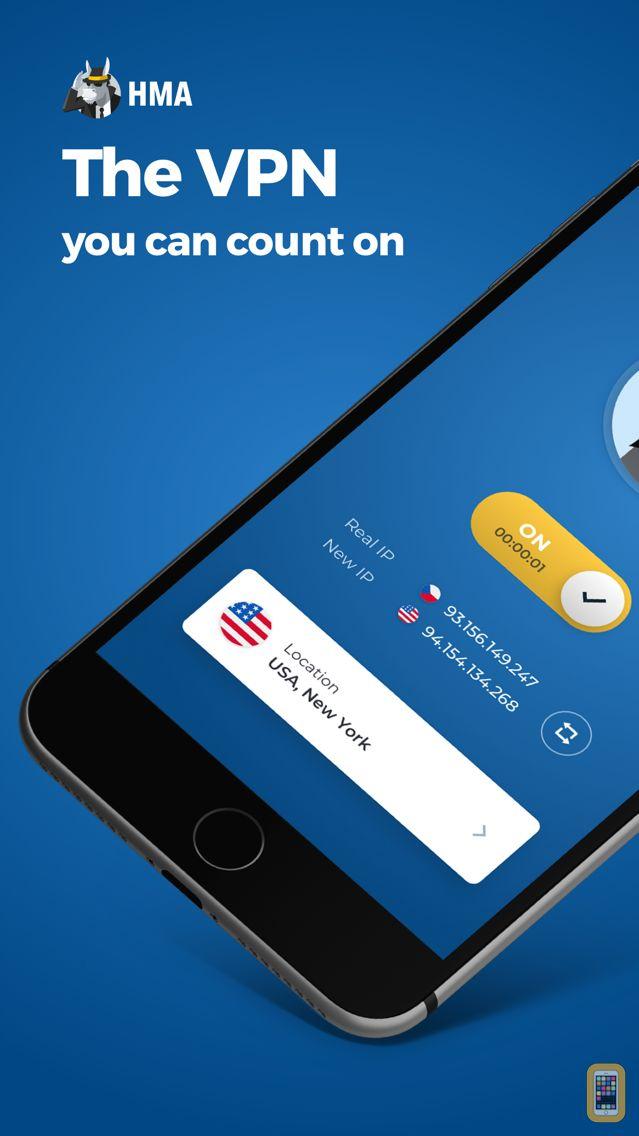 Screenshot - HMA Hotspot VPN & Proxy