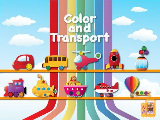 Screenshot - Color and Transport