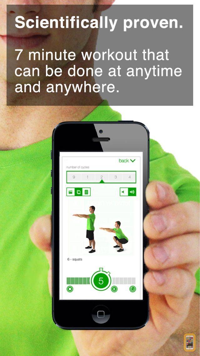 Screenshot - 7 Minute Workout Challenge