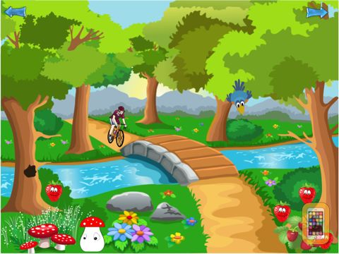 Screenshot - The Four Seasons -  educational game for children and babies
