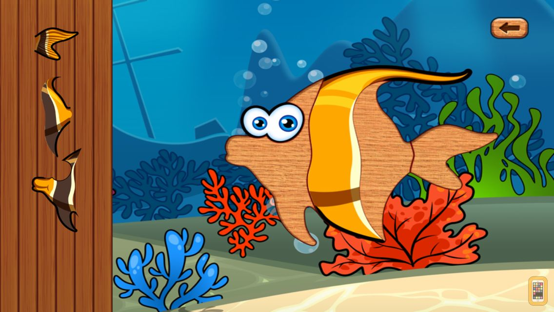 Screenshot - Sea Animal Games for Toddlers and Kids with Jigsaw Puzzles