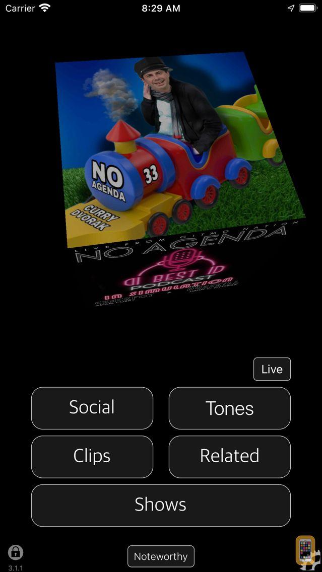 Screenshot - No Agenda Karma, Clips & More