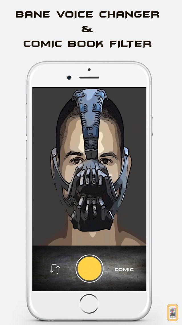 Screenshot - Bane Voice Changer Face Filter