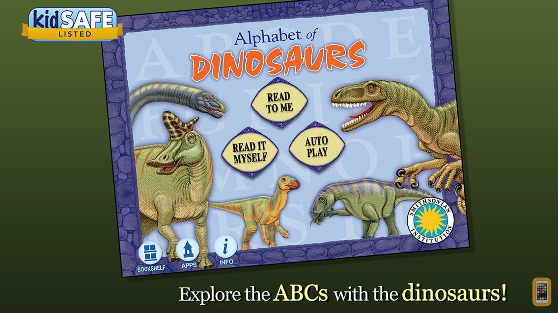 Screenshot - Alphabet of Dinosaurs - Smithsonian Alphabet Books