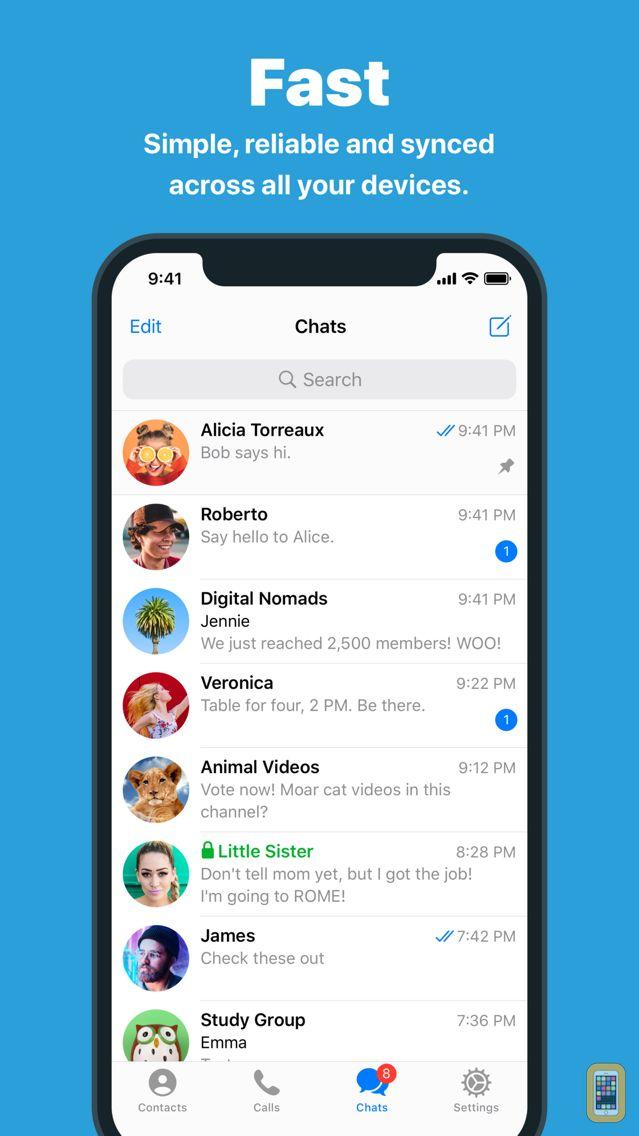 Screenshot - Telegram Messenger