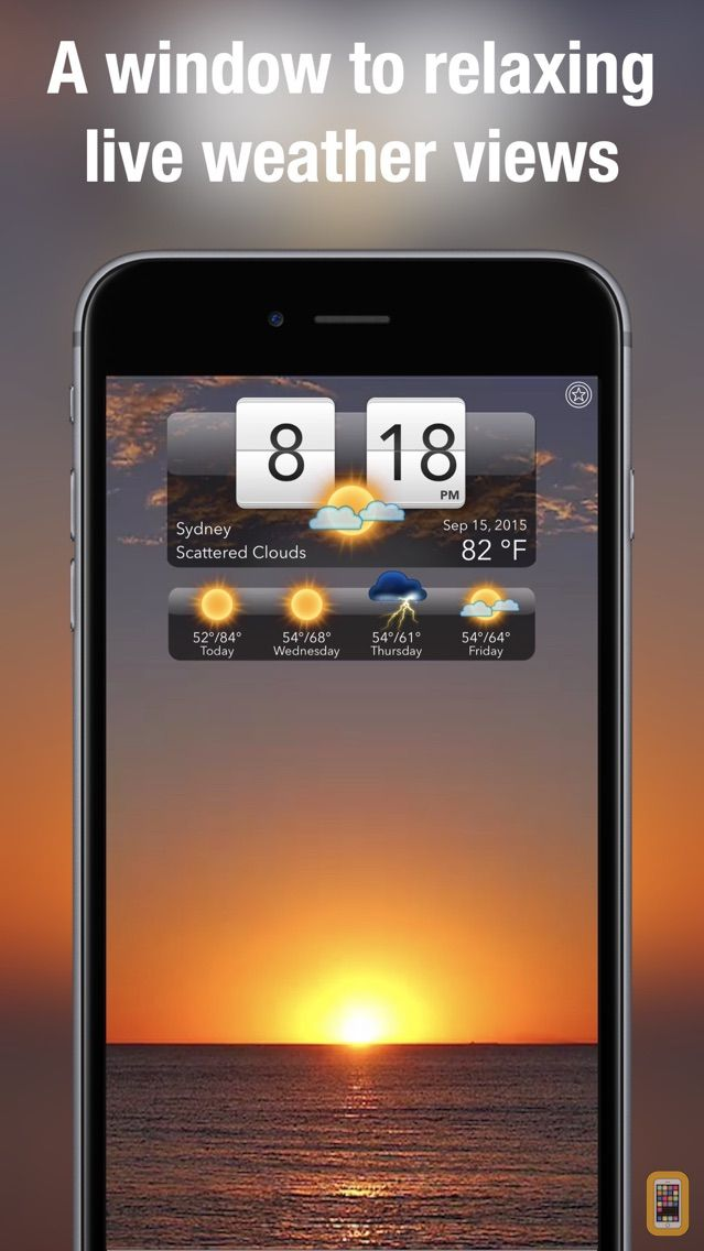 Screenshot - Living Weather HD