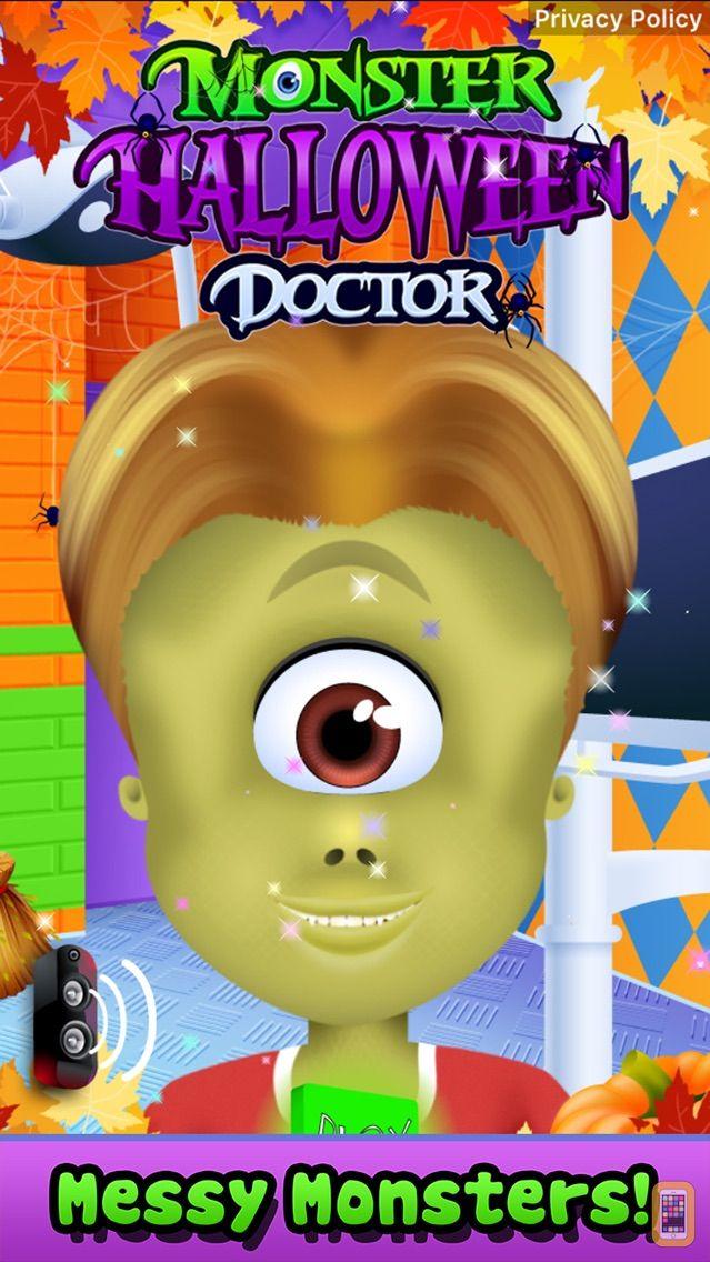 Screenshot - Monster Doctor Office - Kids Halloween & Spa Games