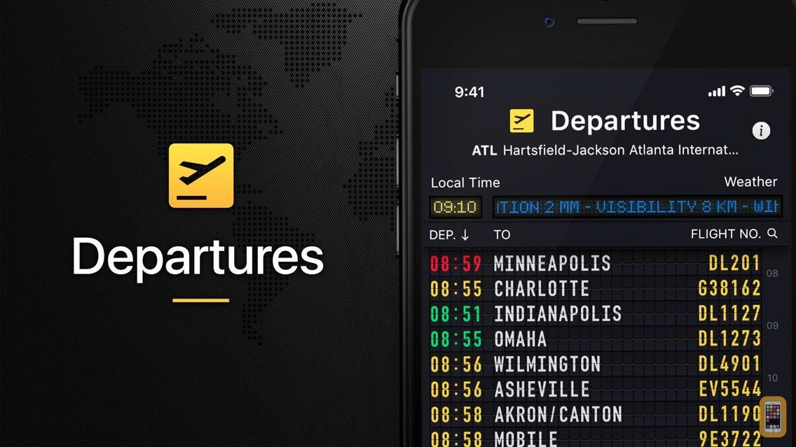Screenshot - Flight Board