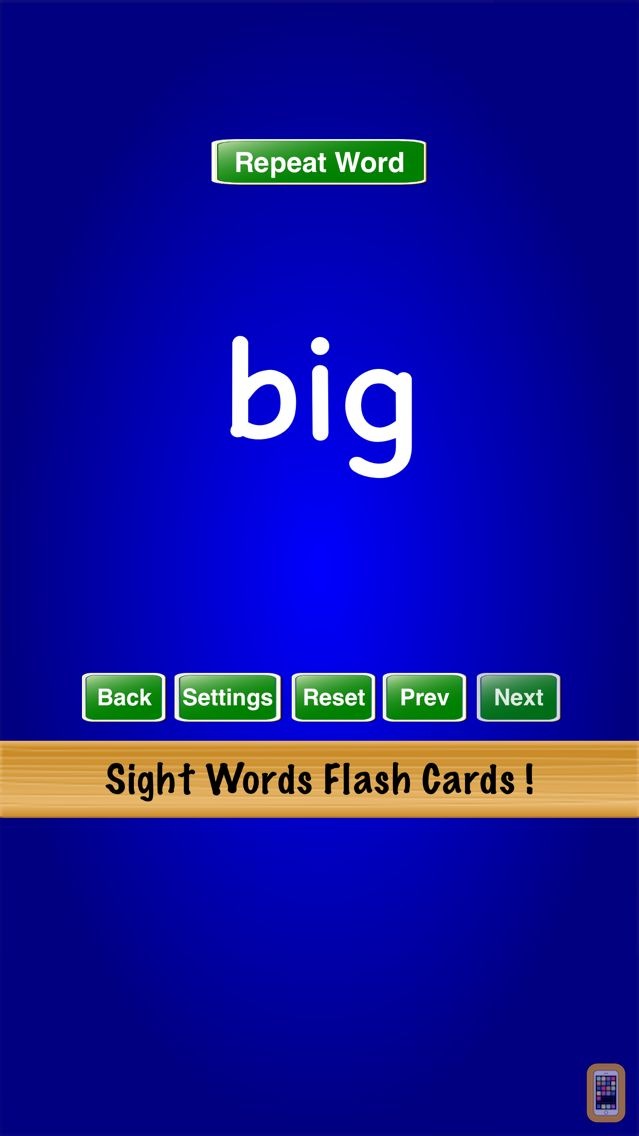 Screenshot - Sight Words Flash Cards !