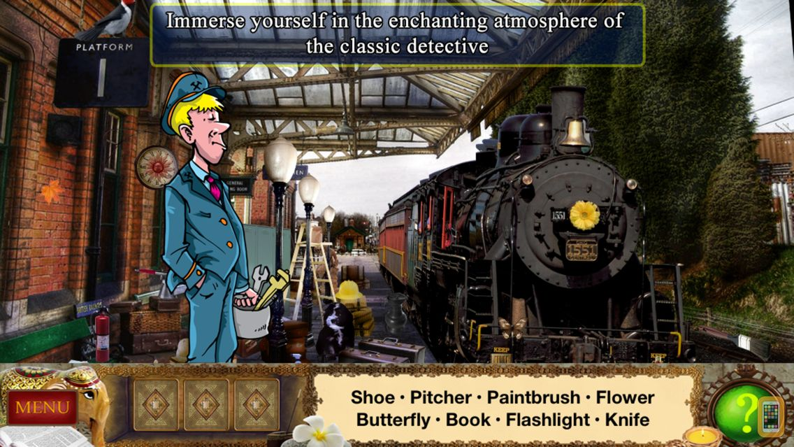 Screenshot - Detective Holmes: Trap for the Hunter – Hidden Objects Adventure