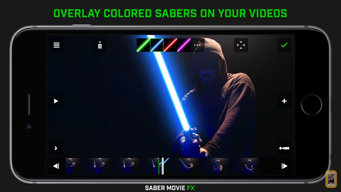 Screenshot - Saber Movie FX
