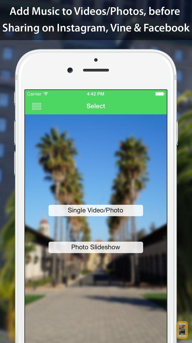 Screenshot - VideoSound - Music to Video