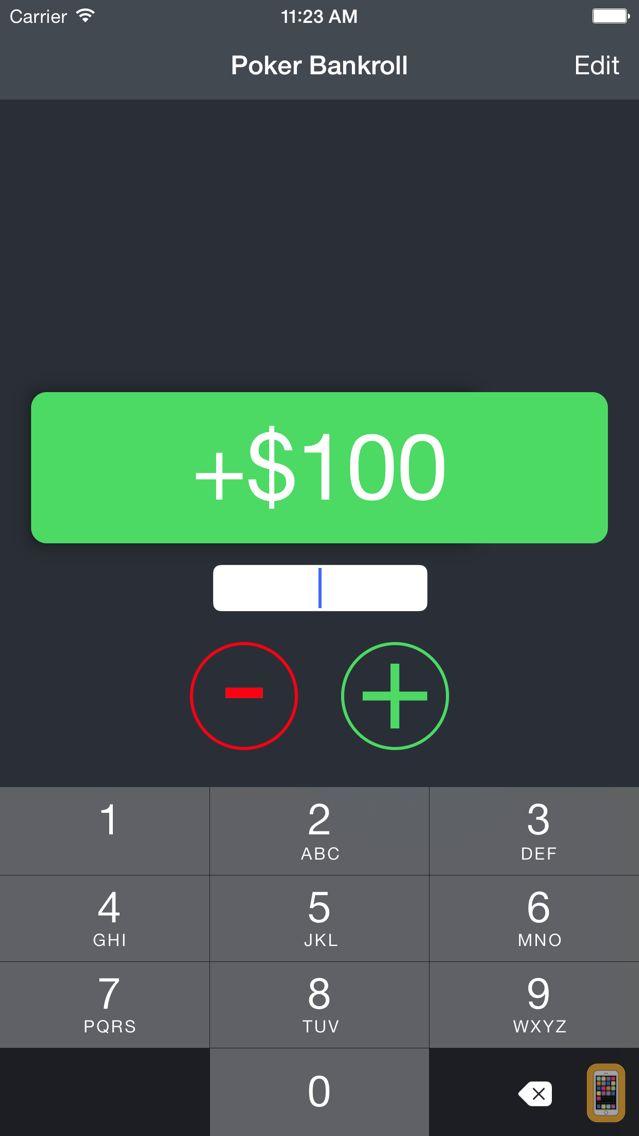 Screenshot - Poker Bankroller
