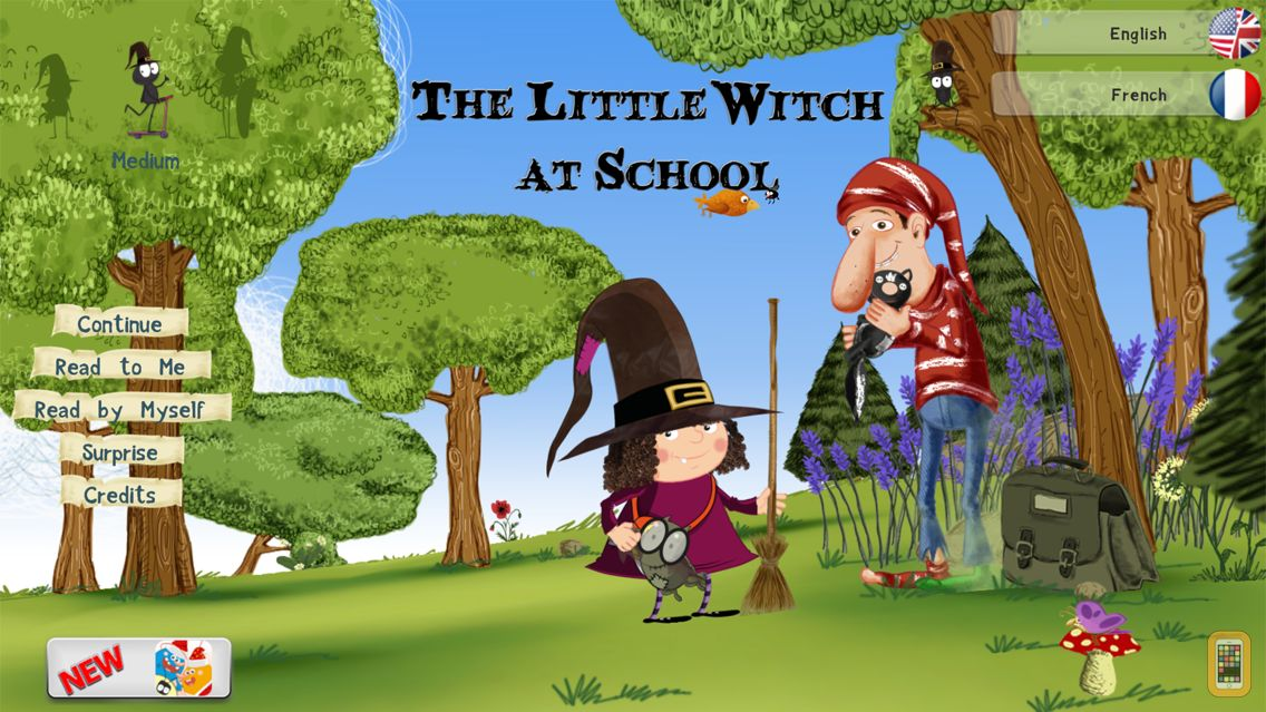 Screenshot - The Little Witch at School