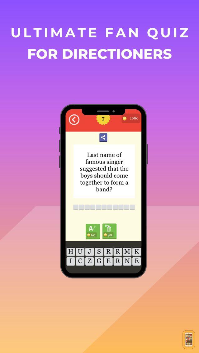Screenshot - Fan Quiz - One Direction Edition