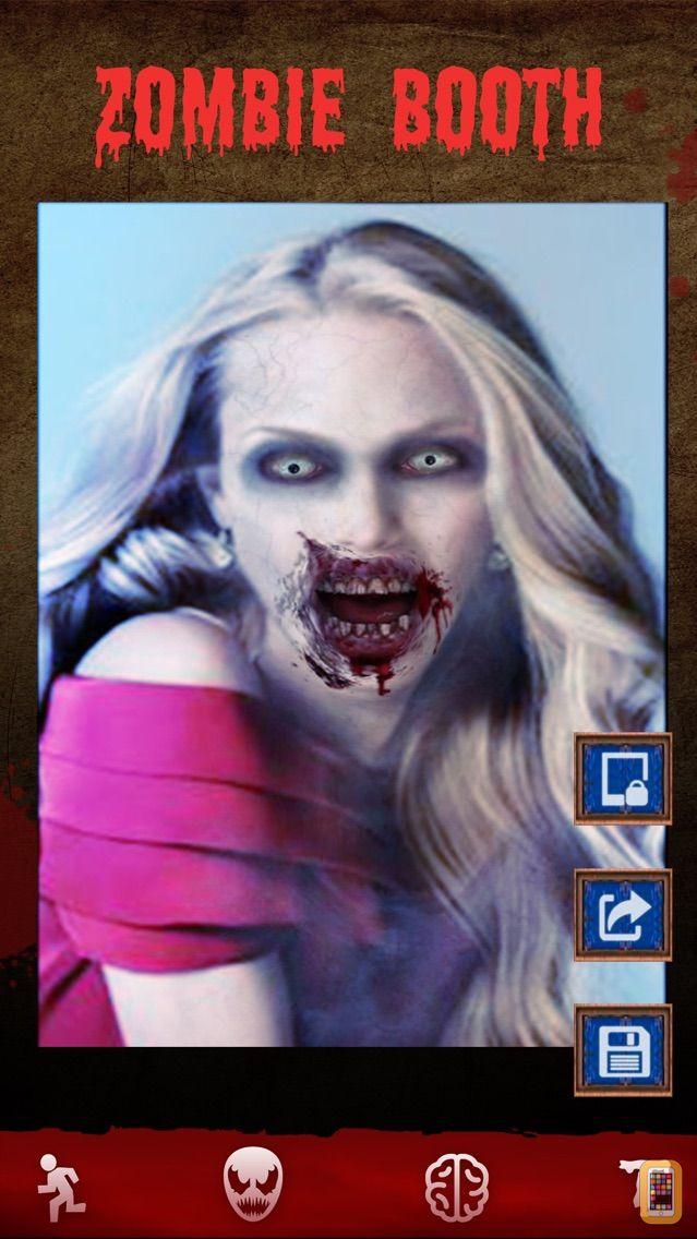 Screenshot - Zombie Games - Face Makeup Cam