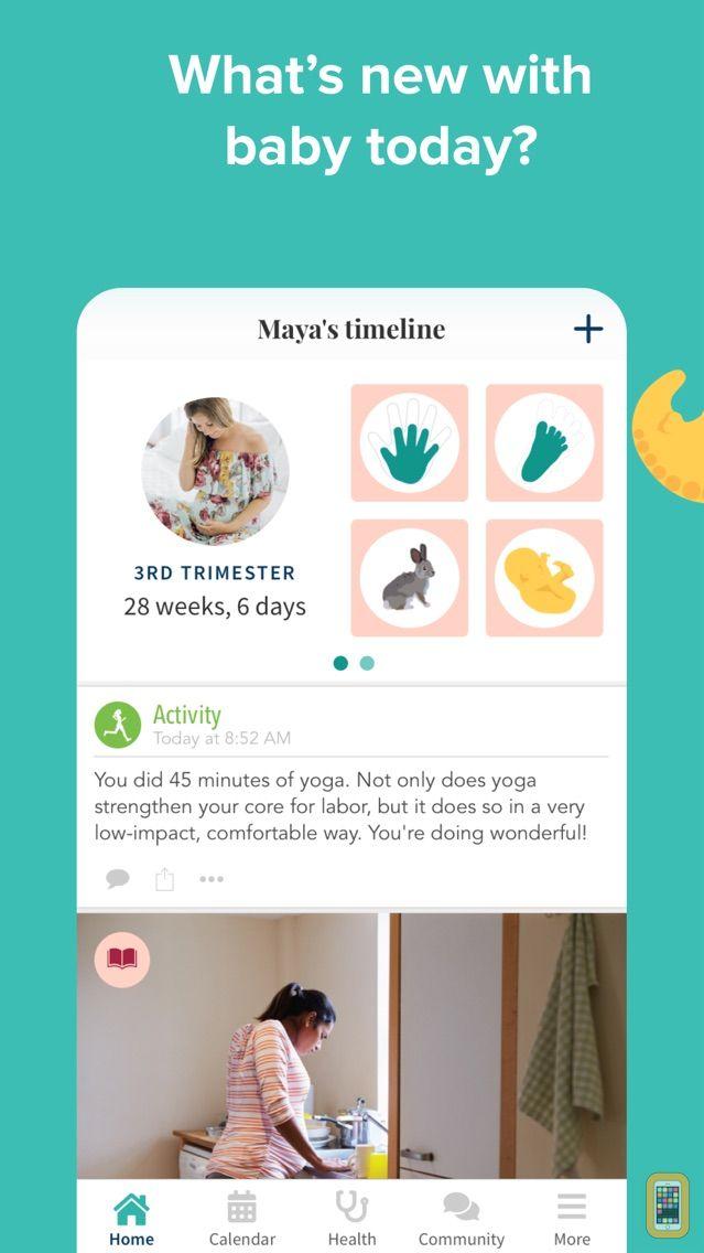 Screenshot - Ovia Pregnancy Tracker