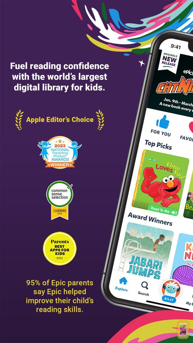 Screenshot - Epic - Kids' Books & Reading