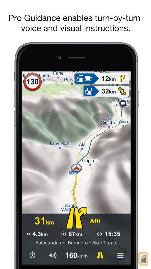 Screenshot - Genius Maps: GPS Navigation
