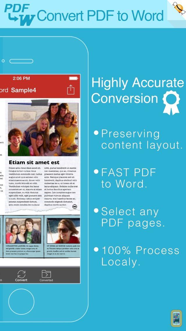 Screenshot - PDF to Word by Feiphone