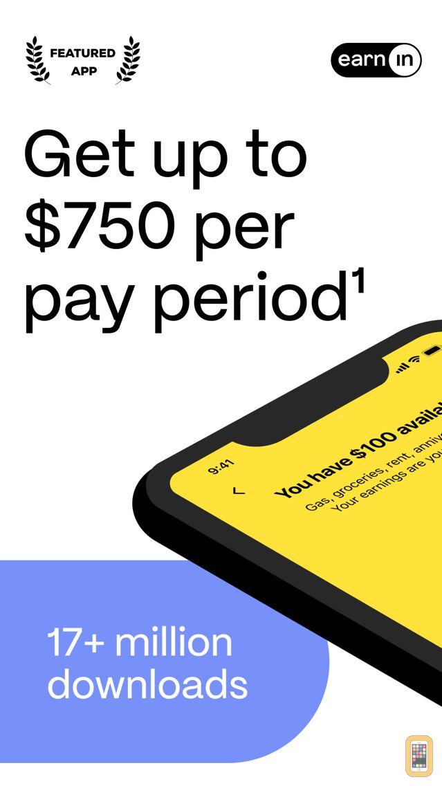Screenshot - Earnin - Get paid today