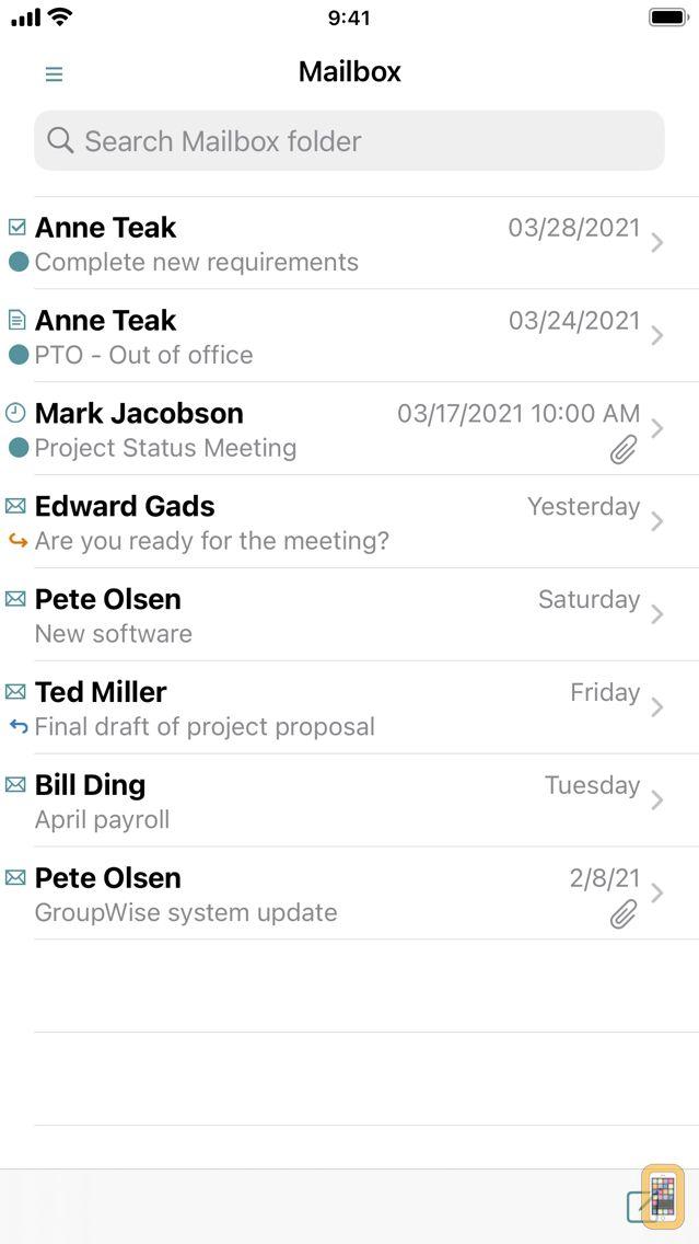 Screenshot - GW Mailbox