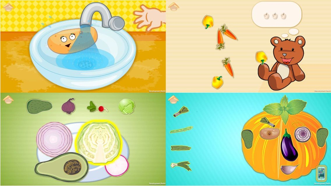 Screenshot - Funny Veggies! Educational games for children