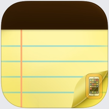 Old Notepad by 1381802 Ontario Inc. (iPhone)