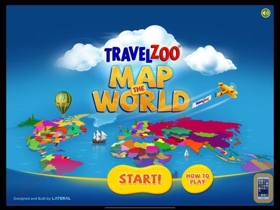 Screenshot - Map the World