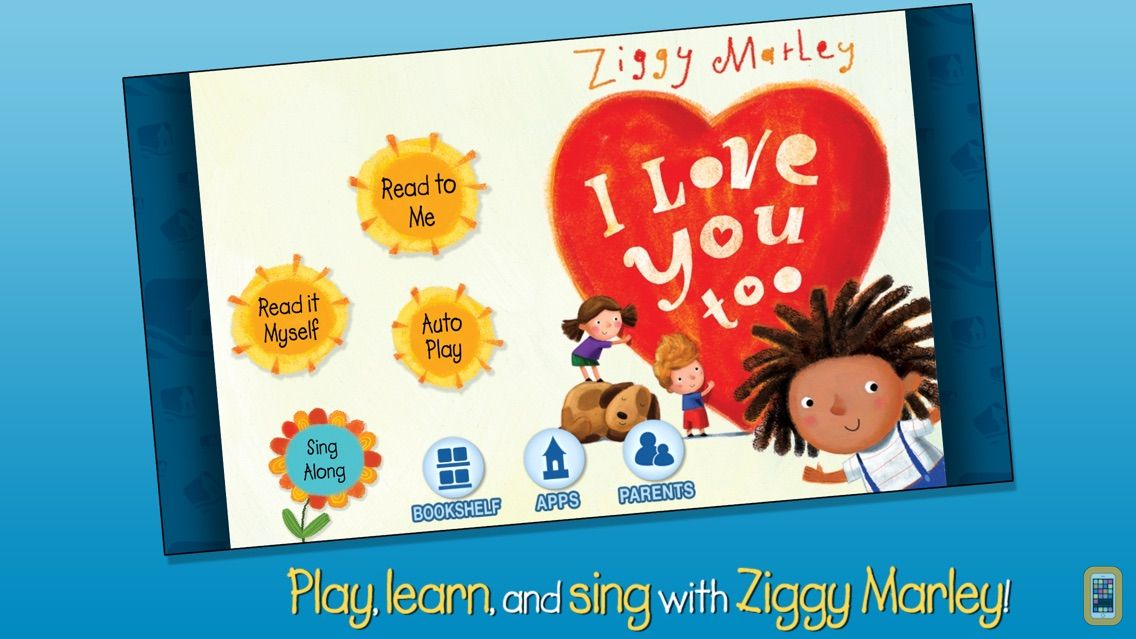 Screenshot - I Love You Too - Ziggy Marley