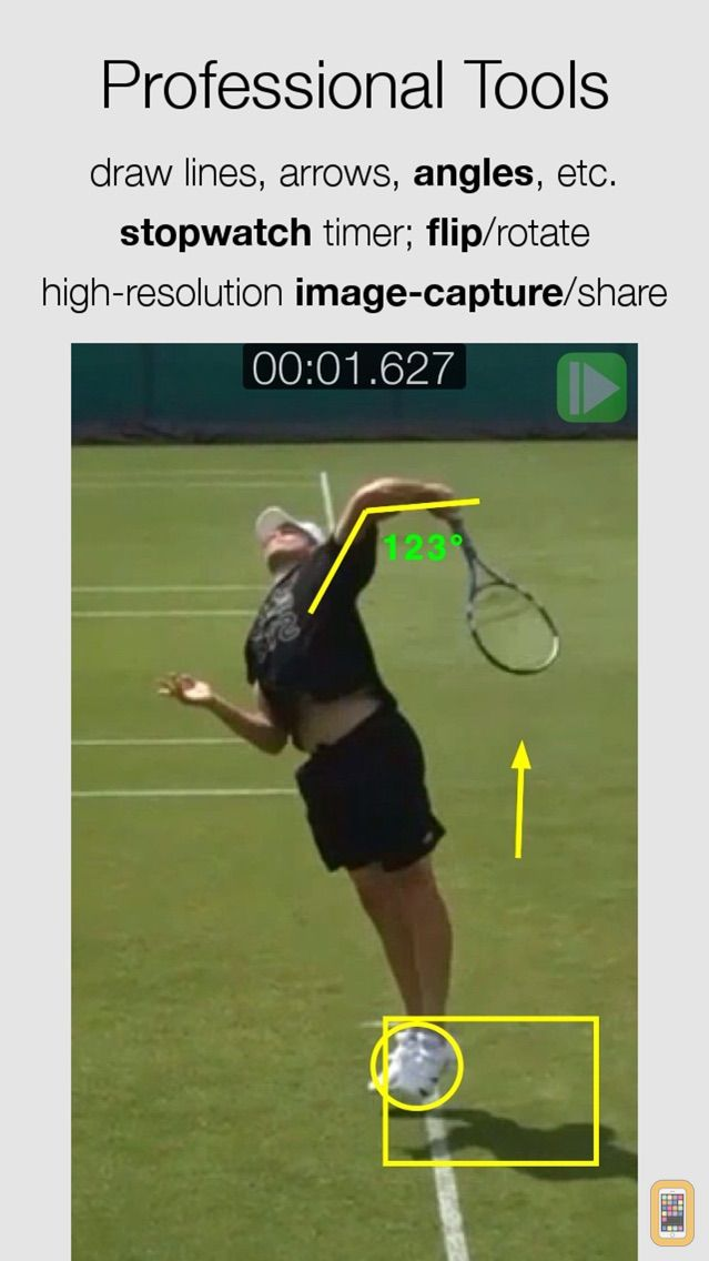 Screenshot - CMV Pro: Frame-Frame Video Analysis - CoachMyVideo