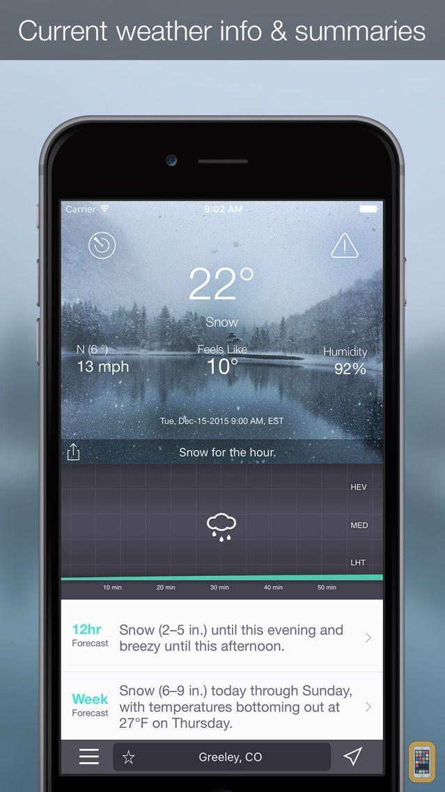 Screenshot - OutCast - Marine Weather