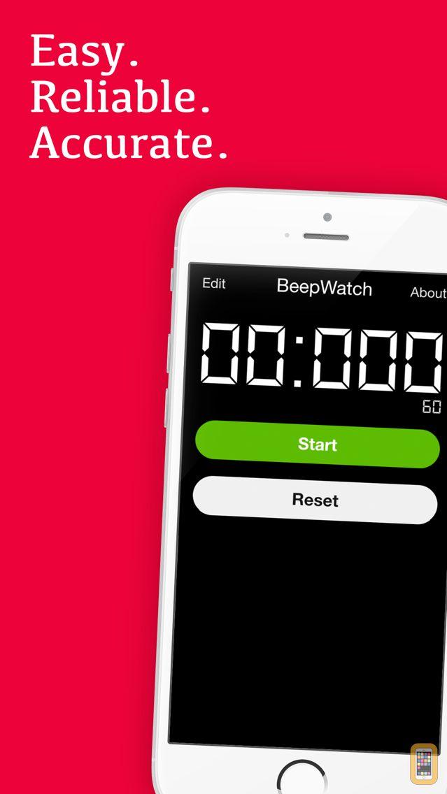 Screenshot - BeepWatch PRO - Beeping Circuit Training Interval Stopwatch