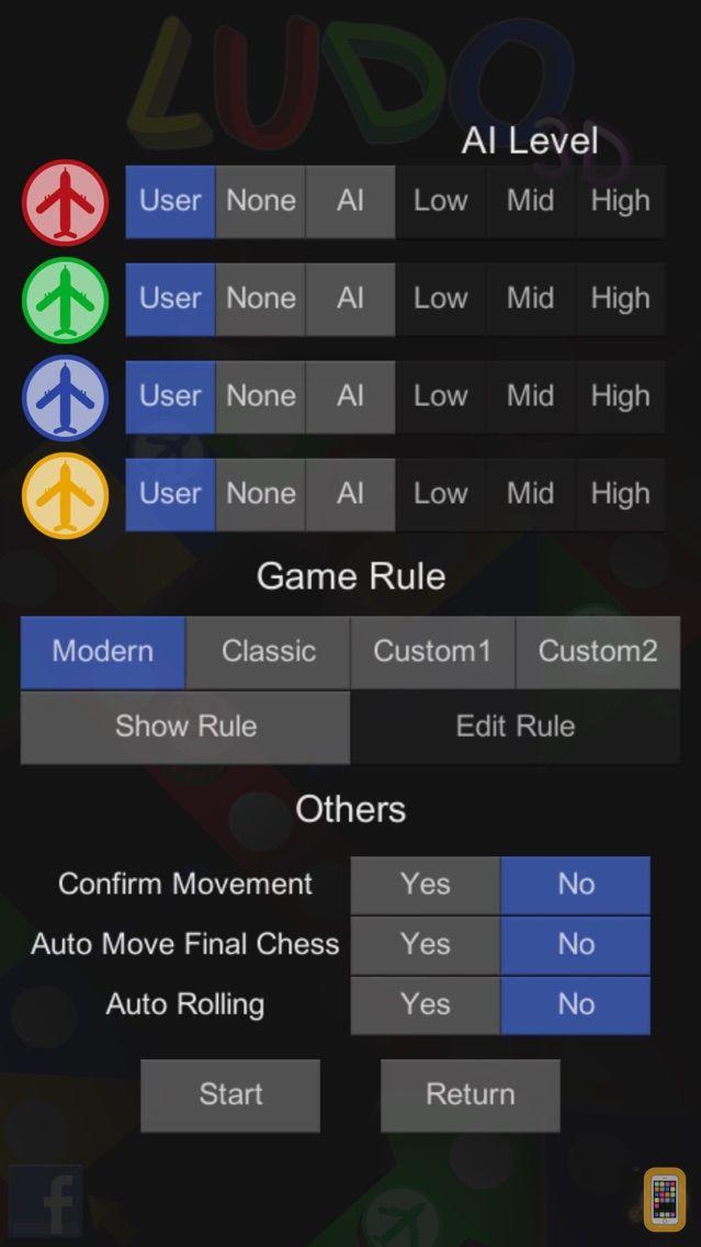 Screenshot - Ludo 3D : Aeroplane Chess