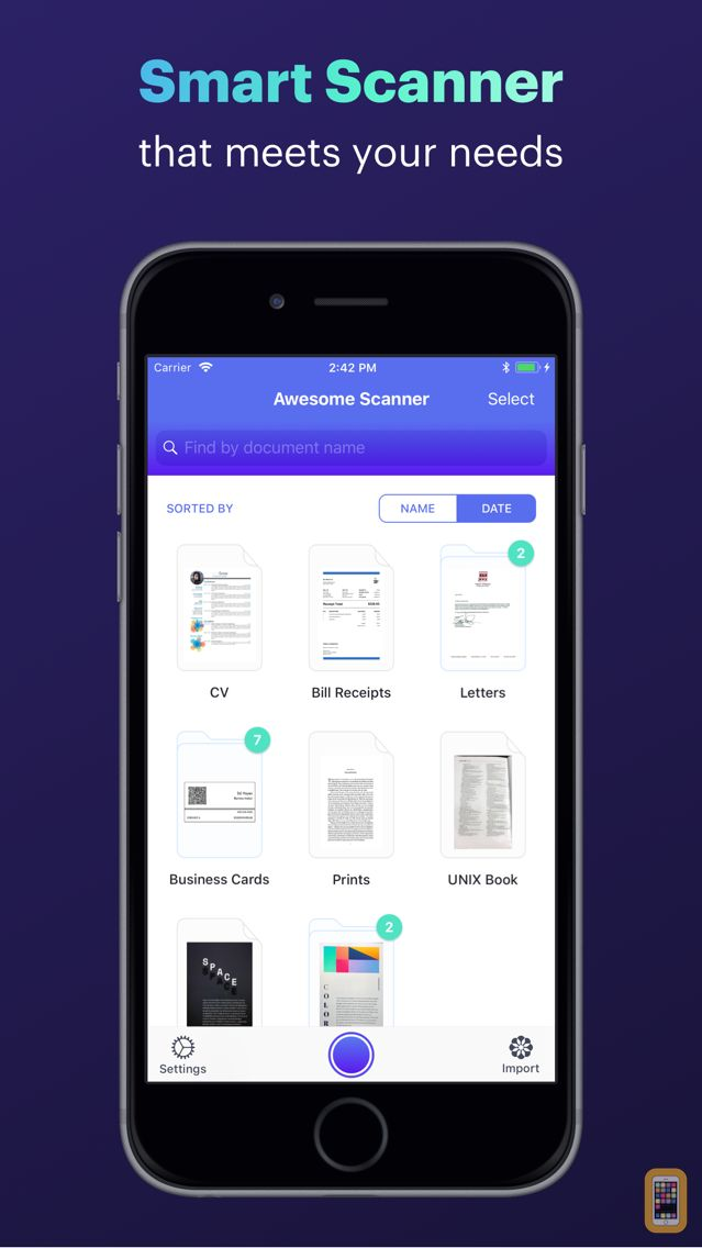 Screenshot - Awesome Scanner - Smart Scanner for iPhone