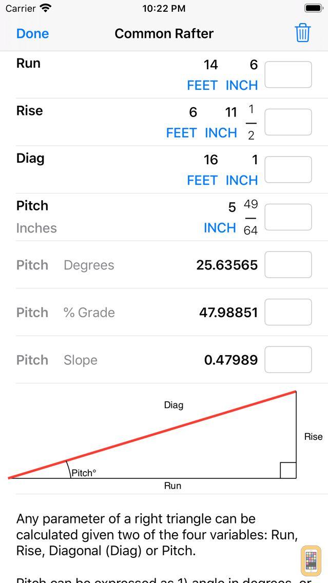 Screenshot - Construction Calculator++