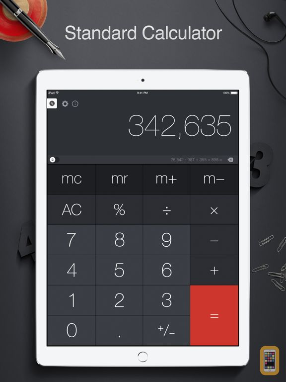 Screenshot - Calculator Pro+ for iPad.